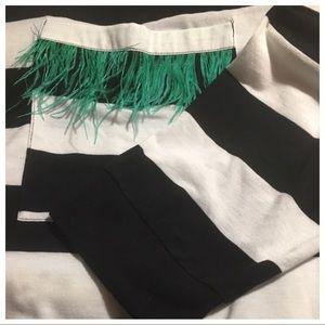 Zara Tops - Zara White and Black striped shirt SizeS